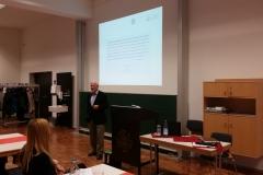 Vortrag von Prof. Hüttner