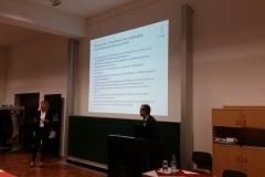 Vortrag von Frau Dr. Leitner und Herrn Heindl